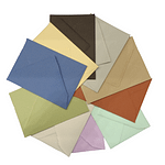 AMALFI PAPER COLOURED ENVELOPES. AVAILABLE IN 13 COLORS