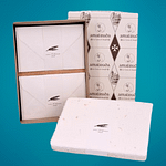 AMALFI PAPER GIFT BOX WITH FLOWERS