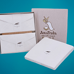 DL size wedding invitations in gift box