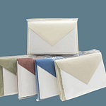 Wedding place cards in handmade Amalfi paper. Each pack contains 10 cards to print and 10 envelopes in the color of your choice. A perfect match for the wedding reception tables.