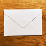 Handmade Amalfi paper envelope for wedding invitations with A4 size sheets
